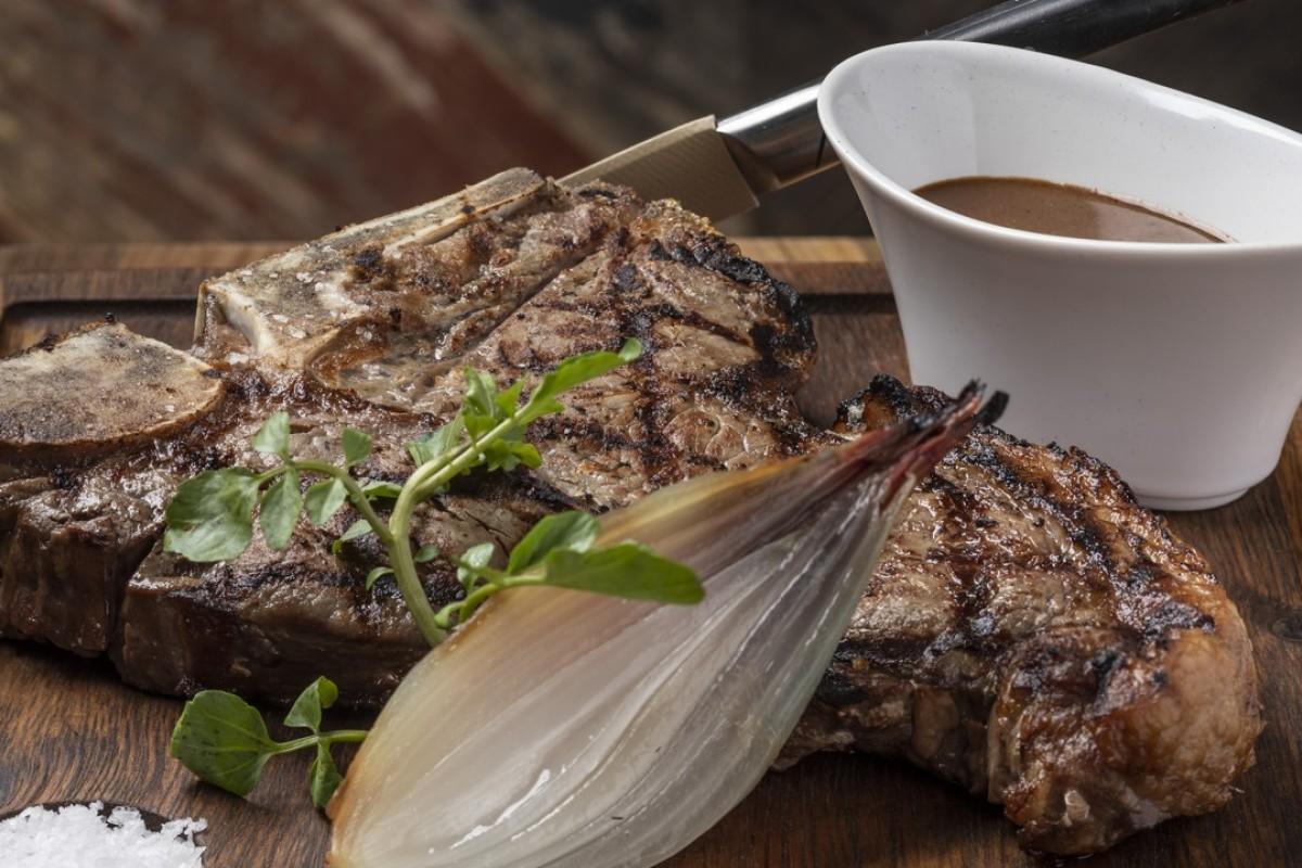 British Butcher's Cut at Maze Grill by Gordon Ramsay