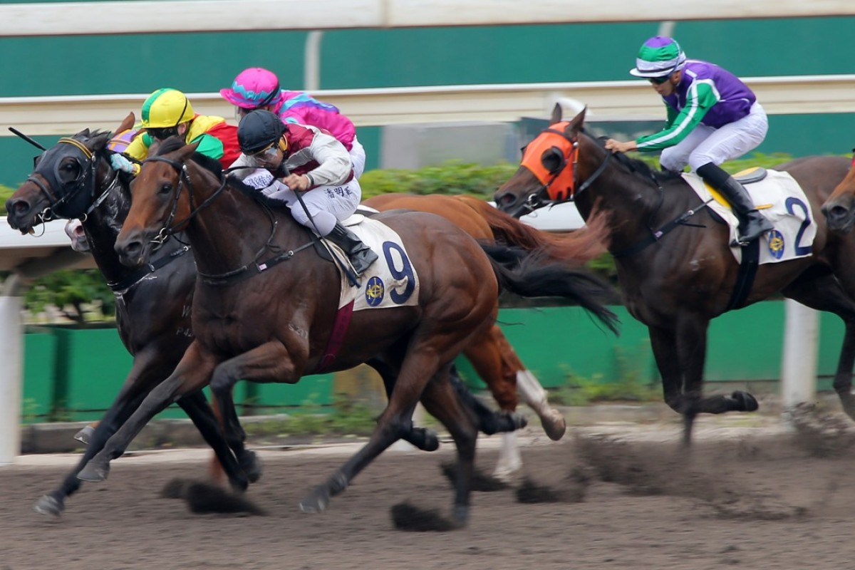 Kirov comes from last to win on Kirov during the first all-weather track race of the season. Photos: Kenneth Chan