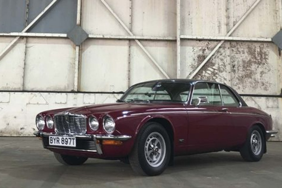 Only 10,000 XJ Coupes were manufactured by Jaguar, making it one of the most desirable XJs in the world. Photo: Bloomberg
