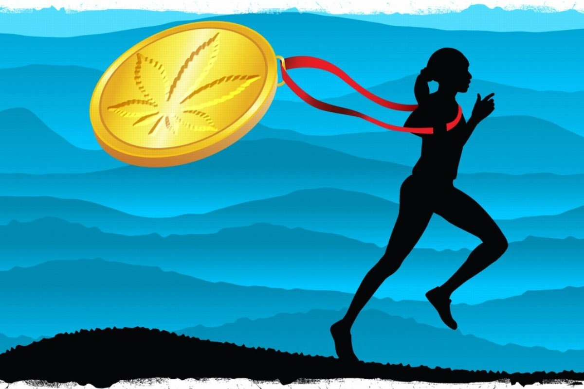 More runners are turning to marijuana for training, putting various sporting agencies in a tricky position. Illustration: Dennis Yip