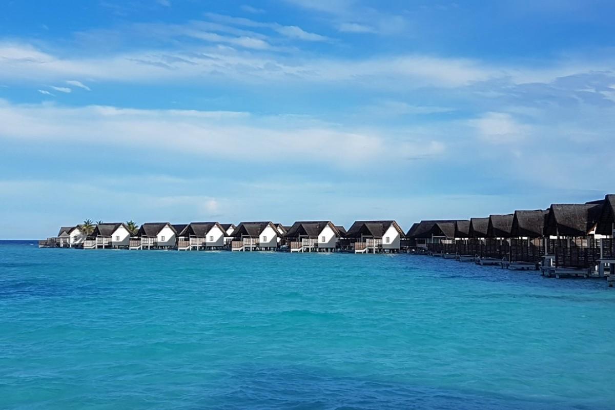 The water villas at Landaa Giraavaru, on the Maldives' Baa atoll. Photos: Cedric Tan