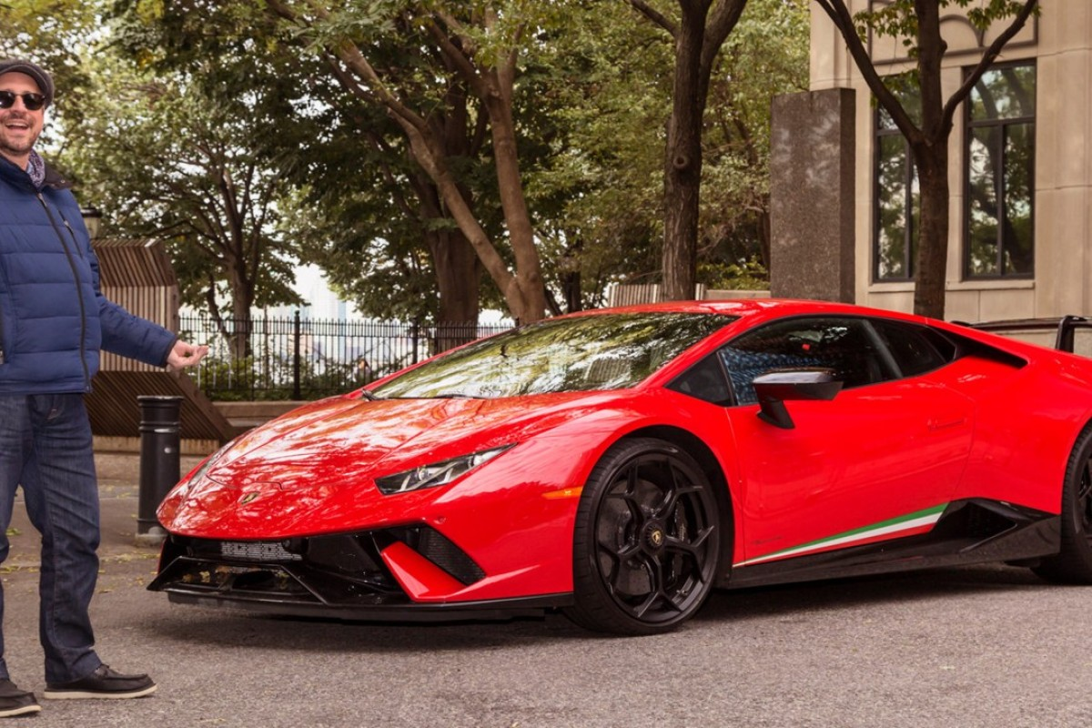 The high-performance Lamborghini Huracan Performante, which can speed to 202mph, can only be really tested on a racing track. Photos: Hollis Johnson/Business Insider