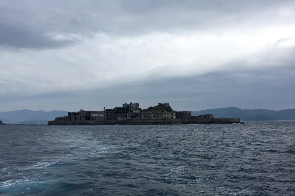 Gunkanjima, or as it is more commonly known, Hashima or Battleship Island, in Southern Japan, was featured in Travis Elborough's earlier book, Atlas of Improbable Places: A Journey to the World's Most Unusual Corners. Picture: Adam Nebbs