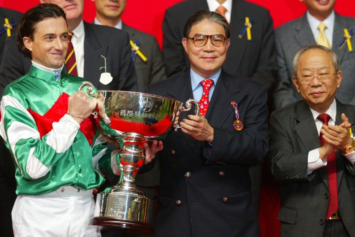 Douglas Whyte after winning the International Jockeys' Championship in 2007. Photos: Kenneth Chan