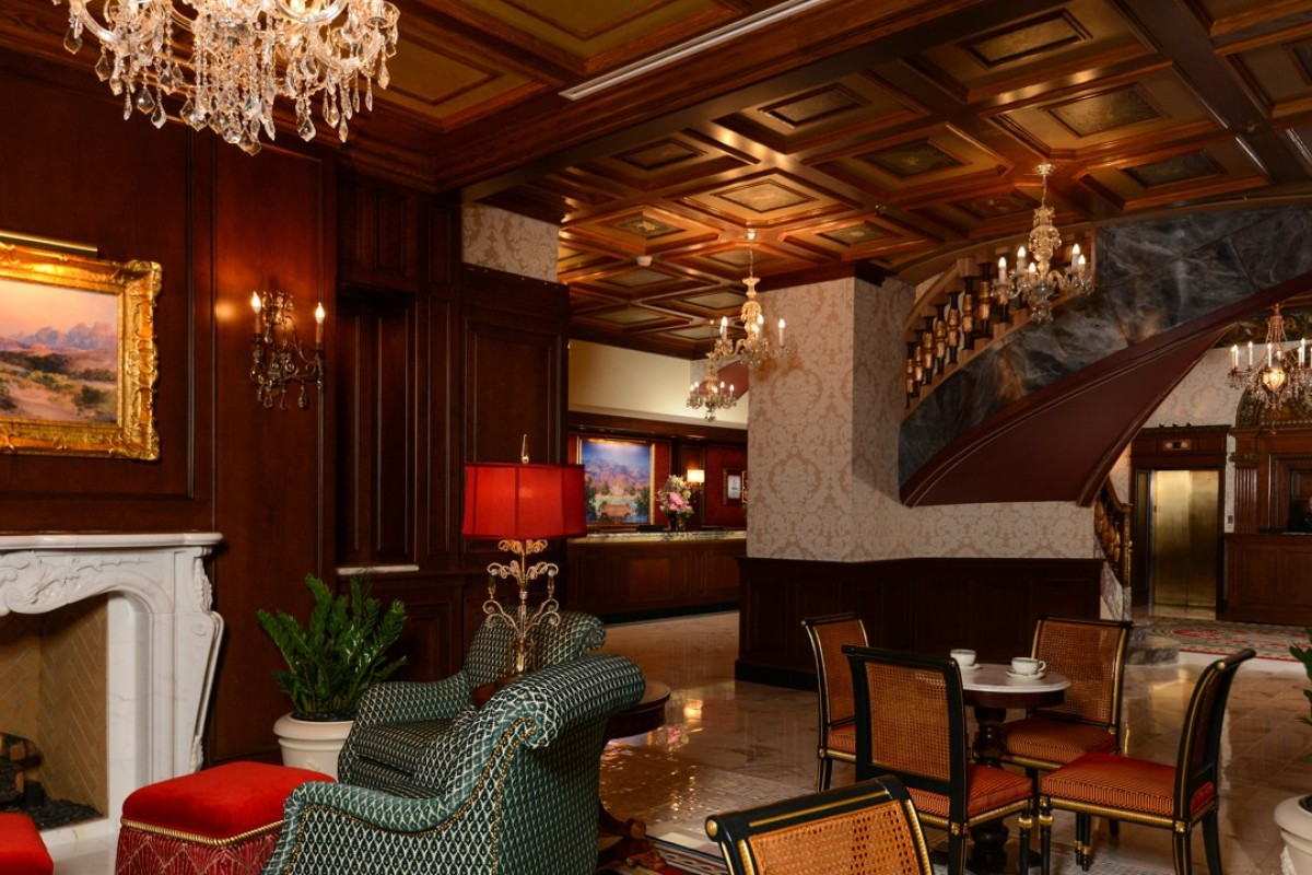 The lobby at The Broadmoor. Picture: The Broadmoor, Colorado Springs