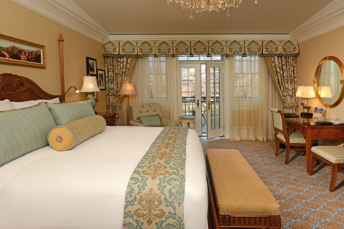 A superior room at The Broadmoor. Picture: The Broadmoor, Colorado Springs