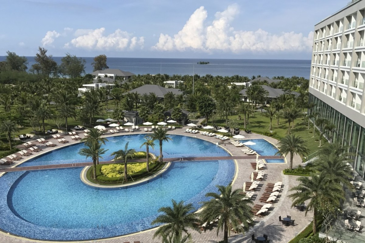 The Radisson Blu Resort Phu Quoc, in Vietnam. Pictures: Mark Footer