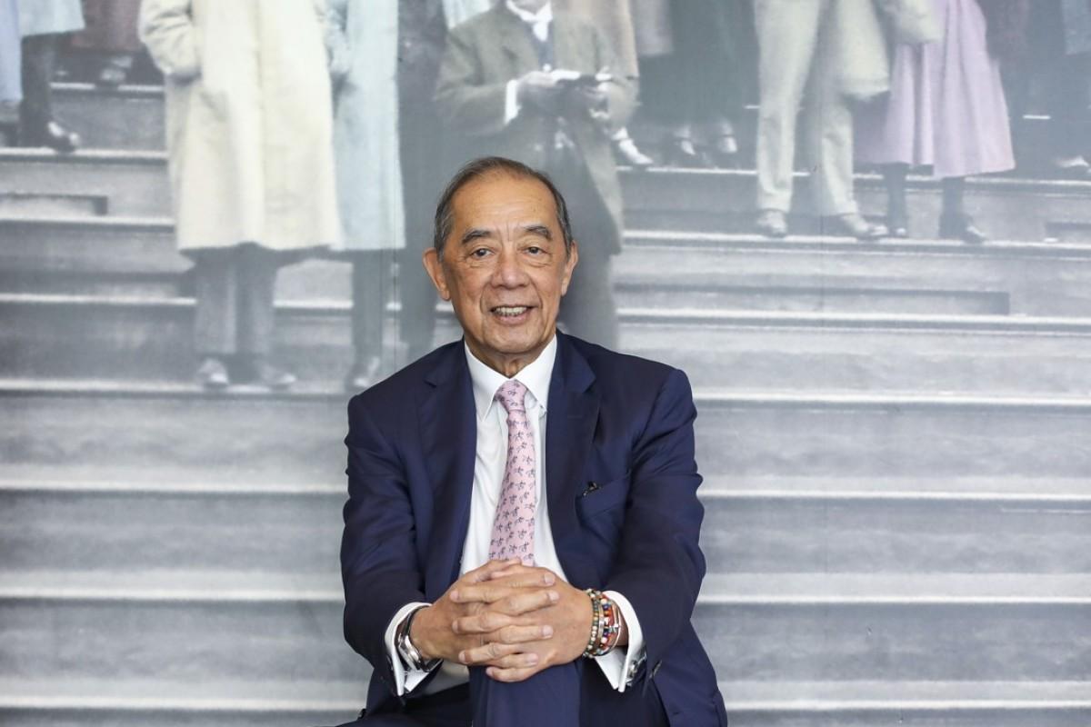 Famous Hong Kong horse owner Ronald Arculli. Photo: Xiaomei Chen