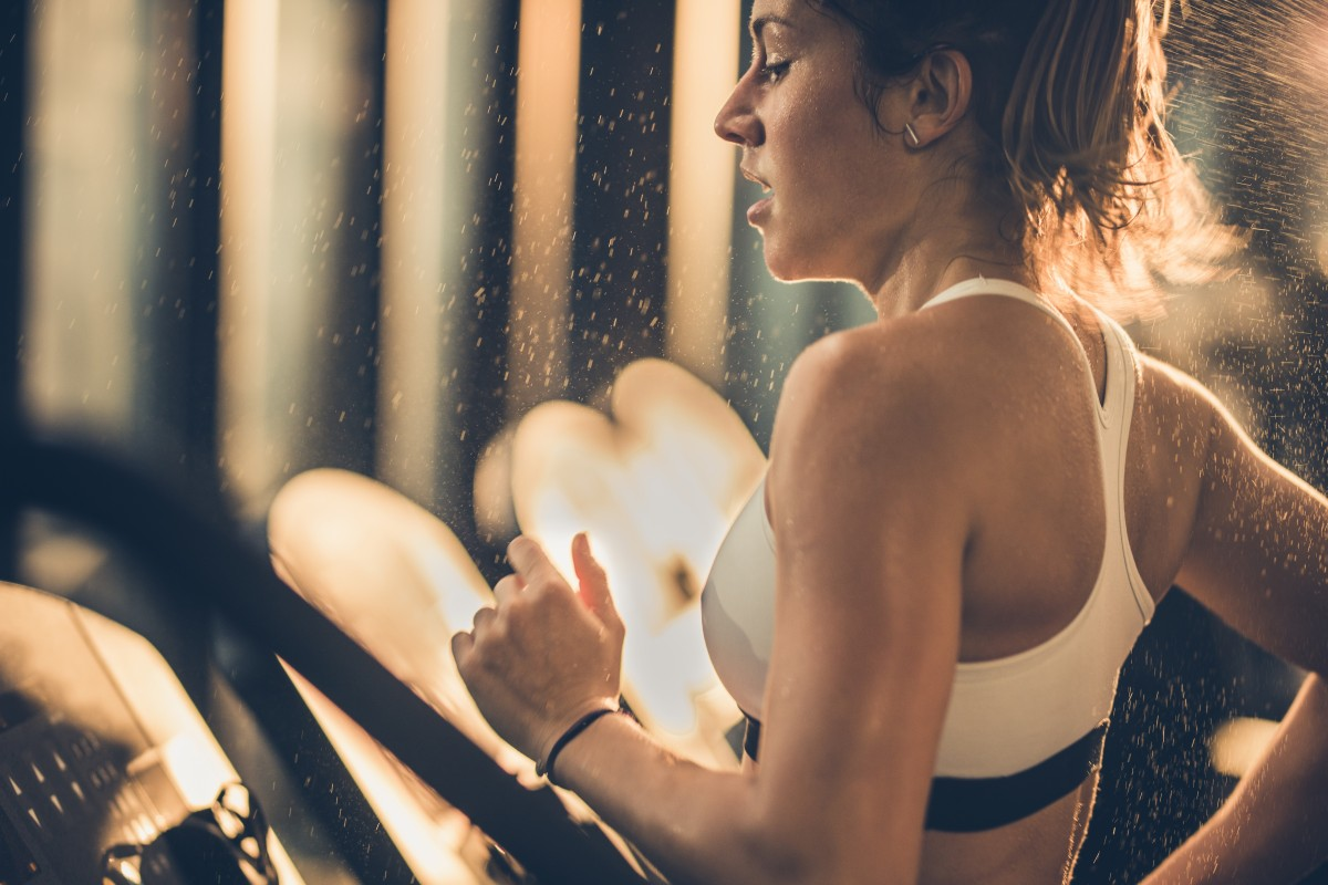 If you're going to hit the treadmill, maybe less (at a higher speed) is more. Photo: Getty Images