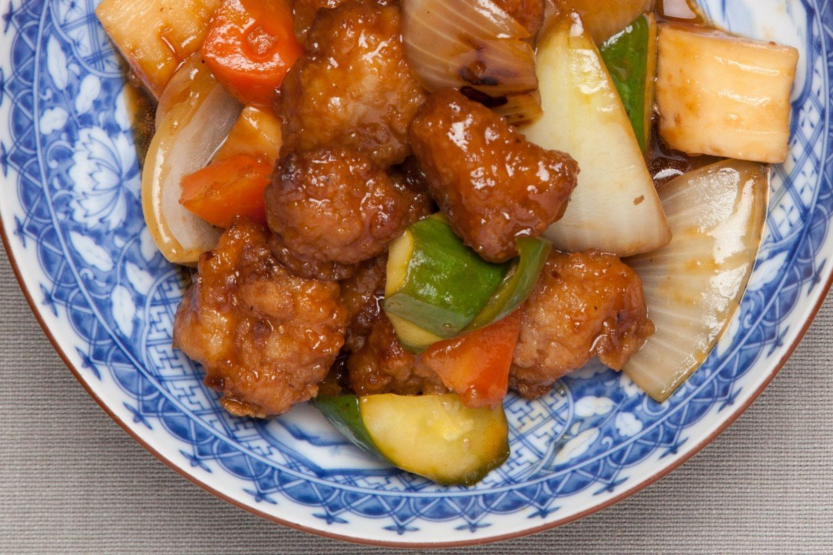 An Encyclopedia of Chinese Food and Cooking contains recipes for classic dishes like sweet and sour Pork.