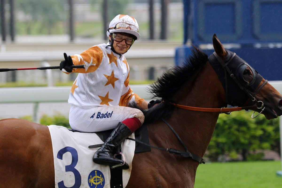 Alexis Badel is looking to go out on a high at Sha Tin on Sunday. Photos: Kenneth Chan