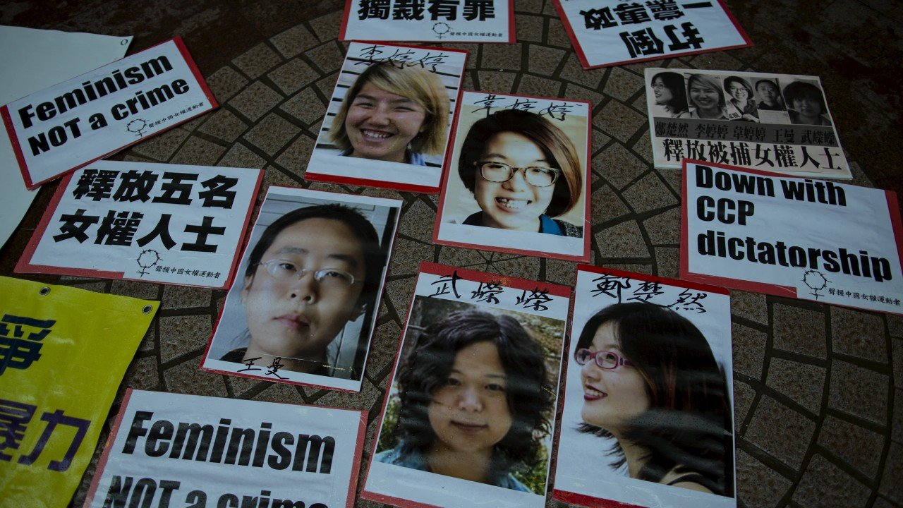 How one of China's 'Feminist Five' is fighting for women's rights, even after jail