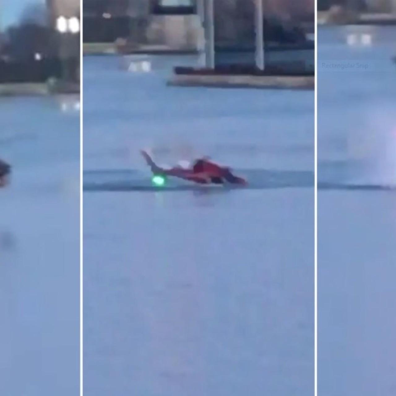 All five passengers dead, but pilot escapes, after