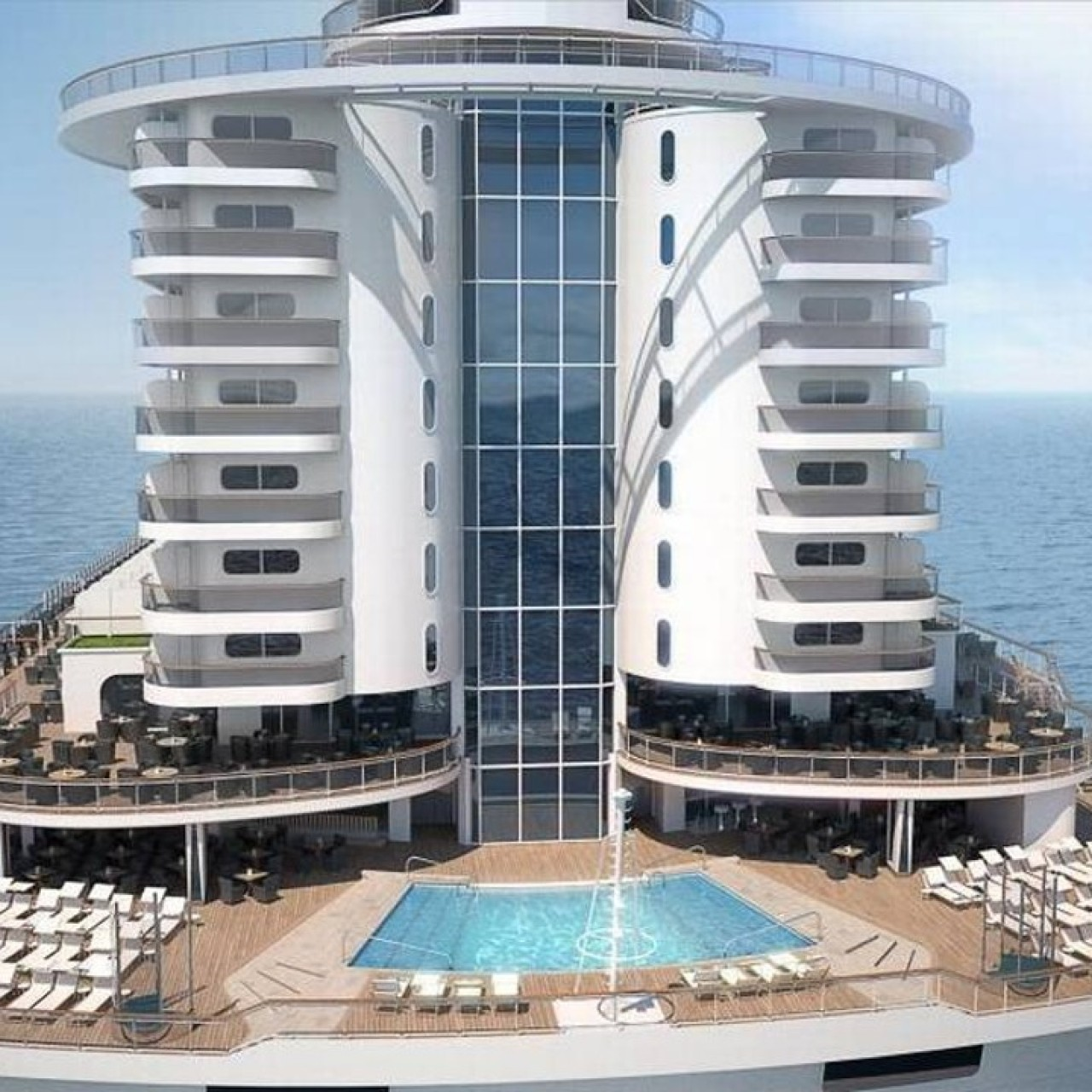 MSC's new cruise ship looks like a condominium – with great views