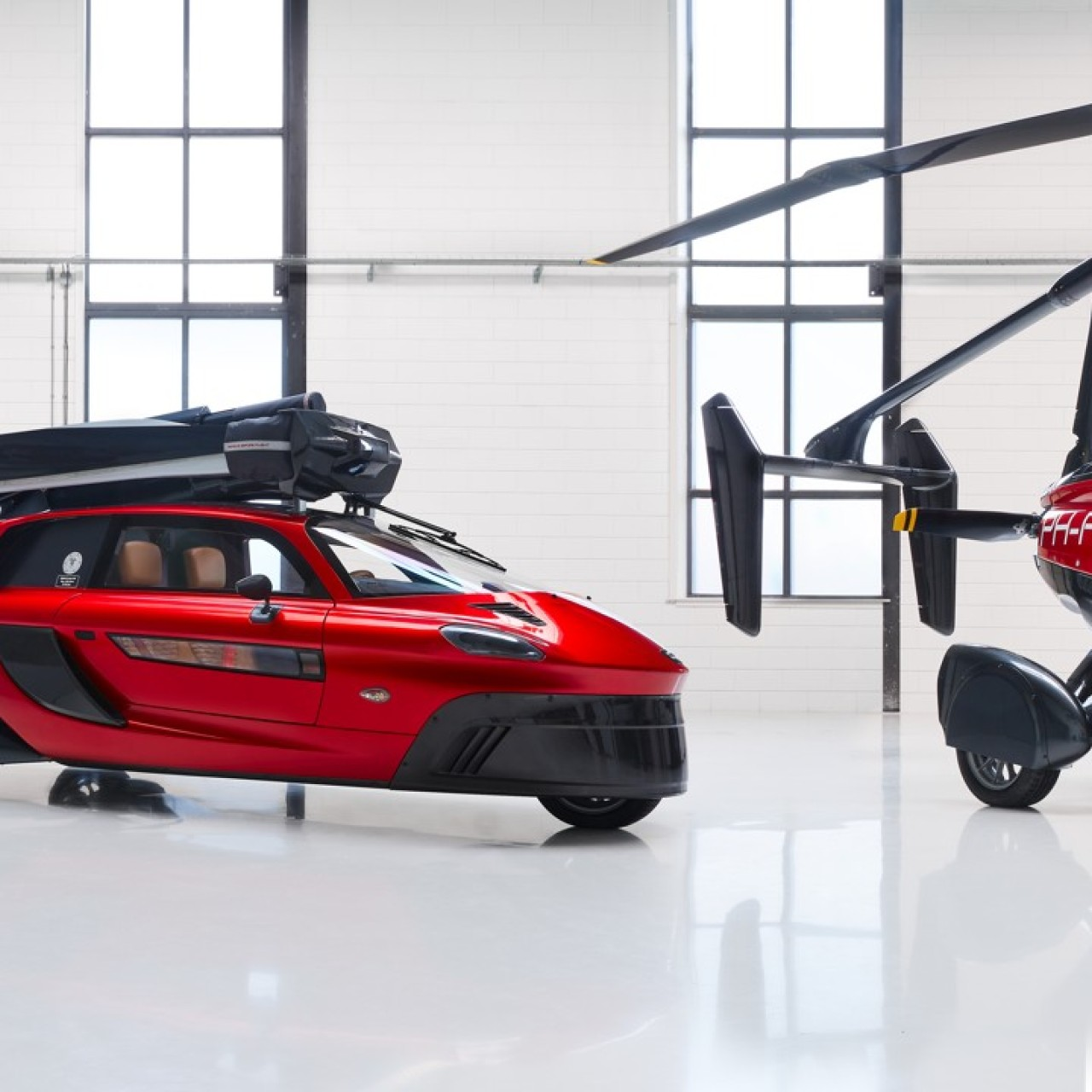 World's first flying car, a two-seater Pal-V Liberty, on track for