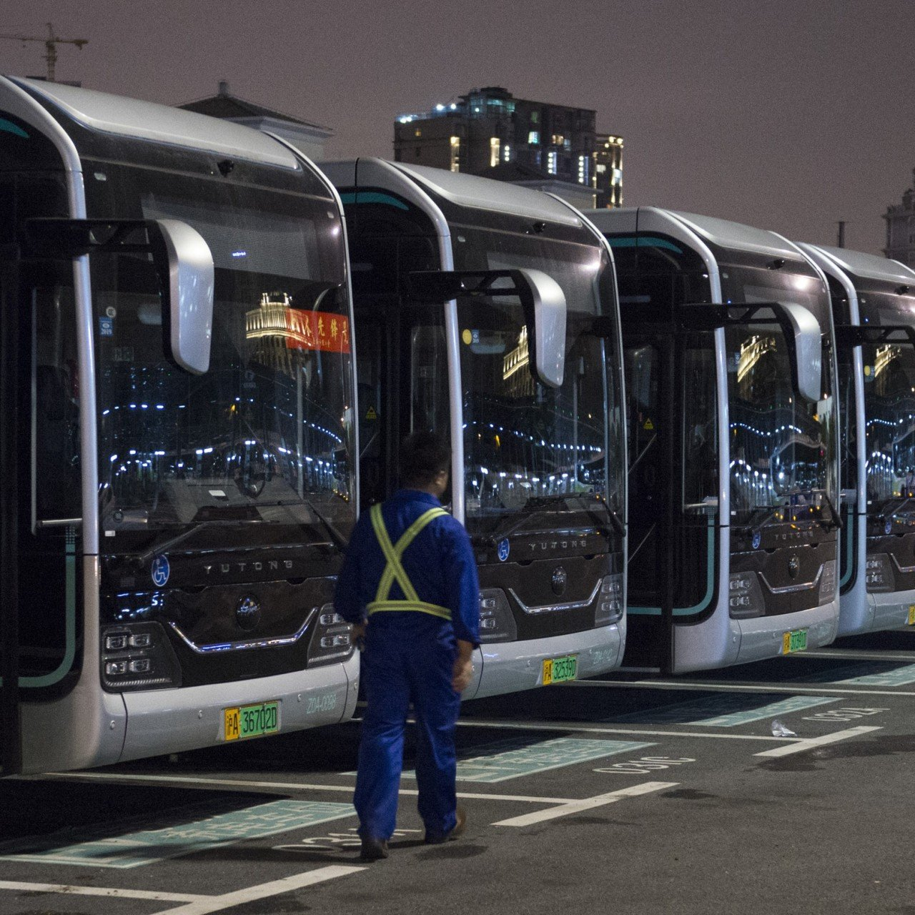 Powered by the state, China takes charge of electric buses, with