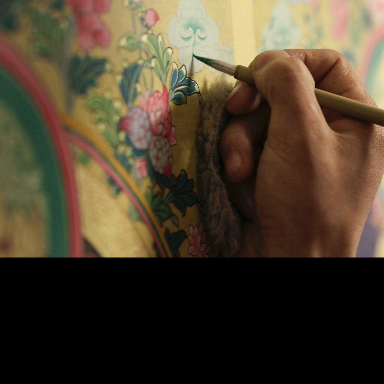 The ancient Buddhist art of thangka has thrived in a Tibetan
