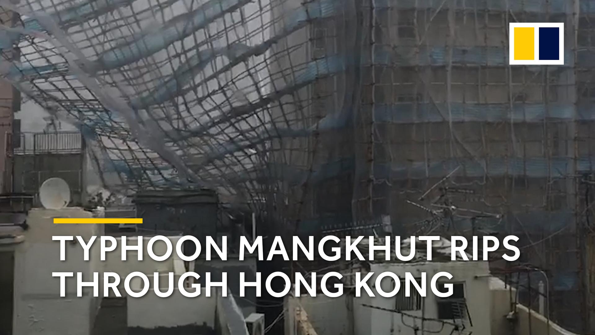 Typhoon Mangkhut floods Kitchee training centre and Siu Sai