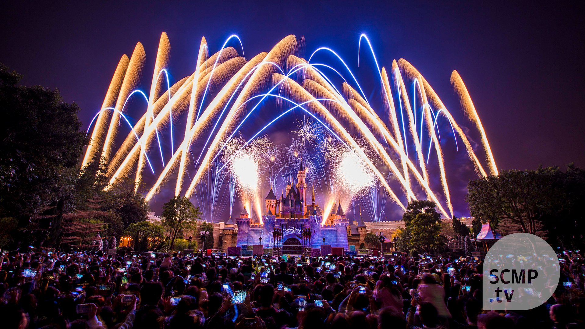Hong Kong Disneyland Suspends Its Nightly Fireworks